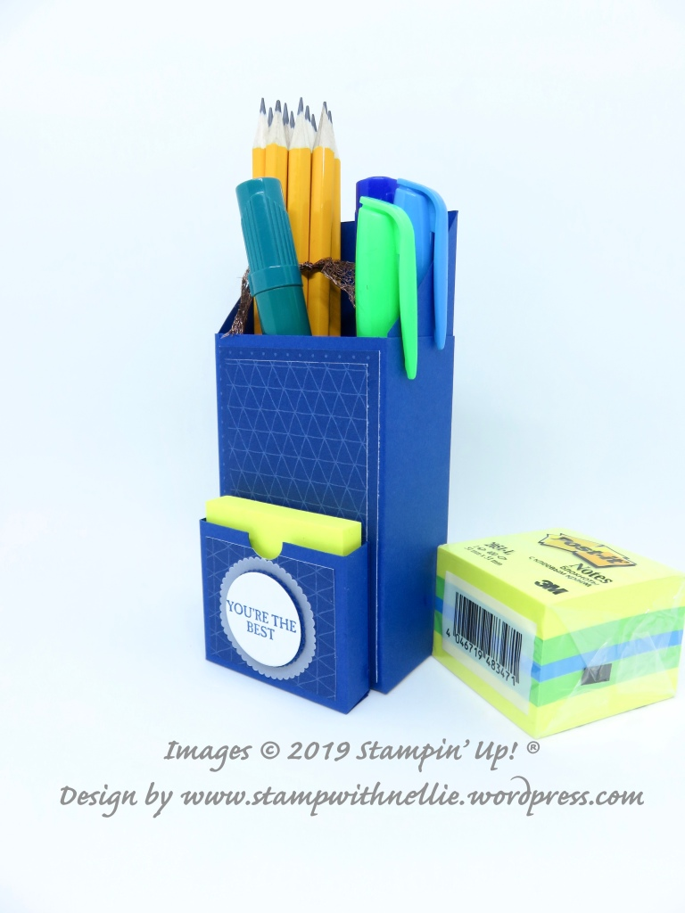 Note Caddy With Pencil